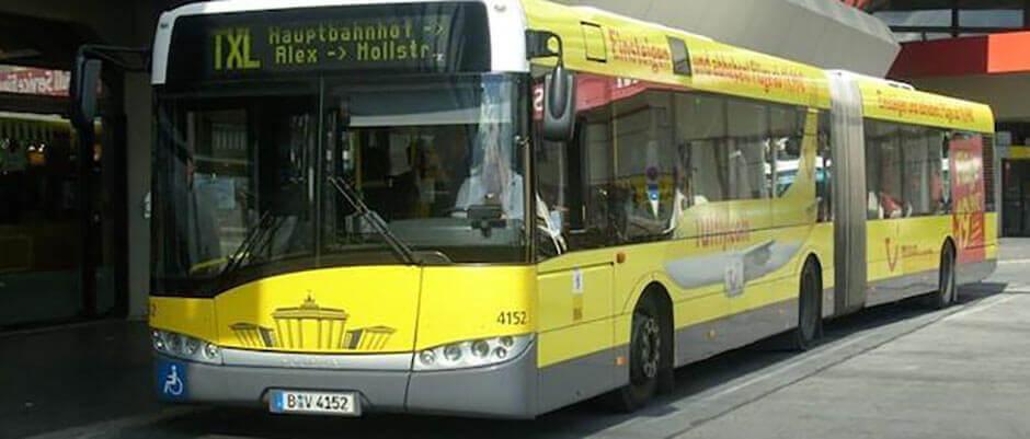 Как добраться в центр Берлина из аэропорта Тегель