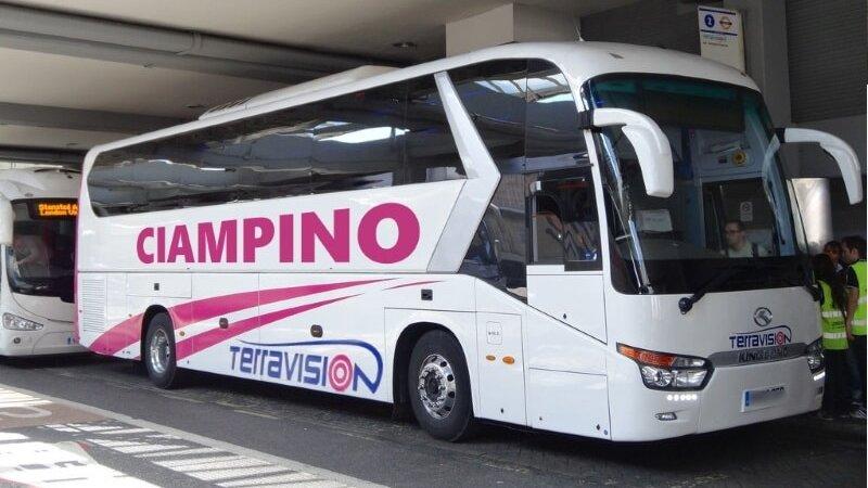Как добраться в центр Рима из аэропорта Чампино