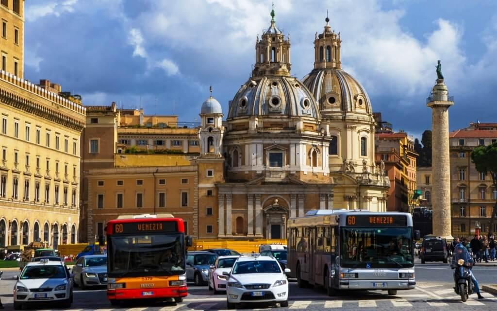 Транспорт Рима