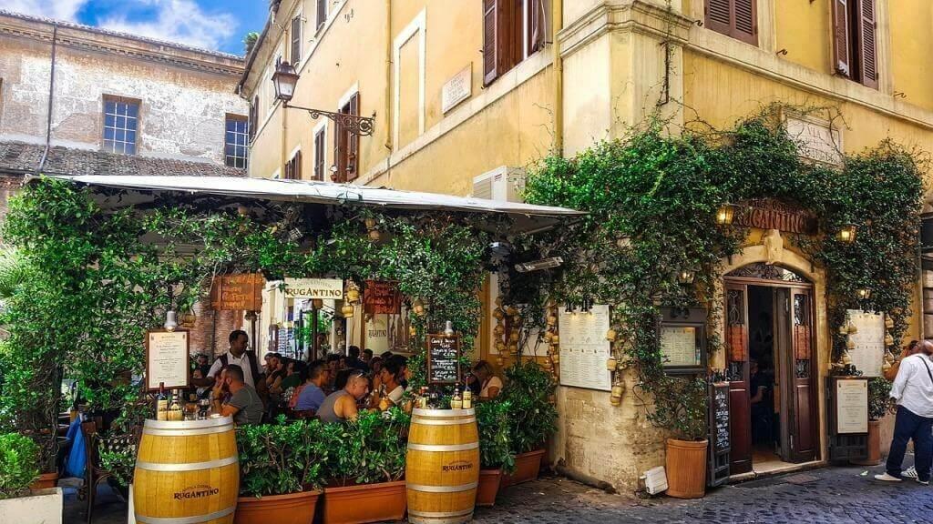 Где недорого поесть в Риме