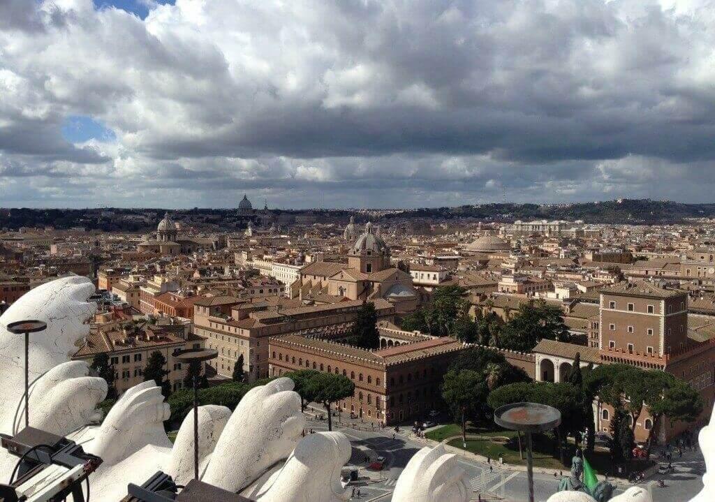 Вид на Рим с Витториано