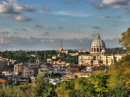 Обзорные площадки Рима