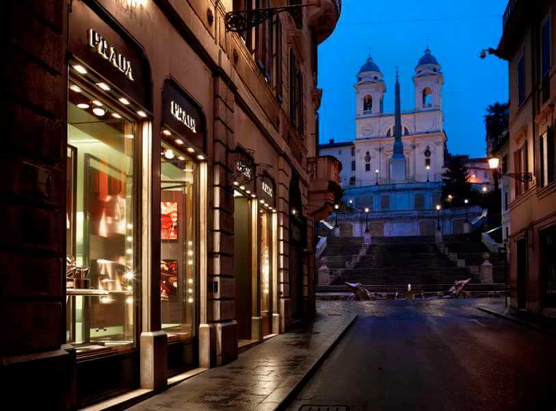 Выгодный шоппинг в Риме