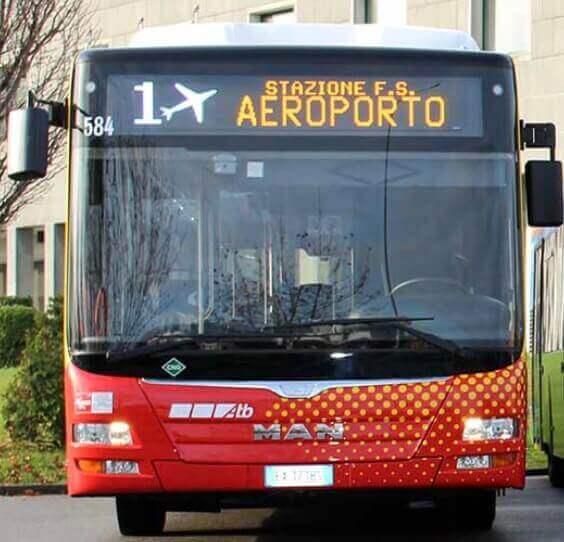 Как добраться из аэропорта Бергамо в центр города
