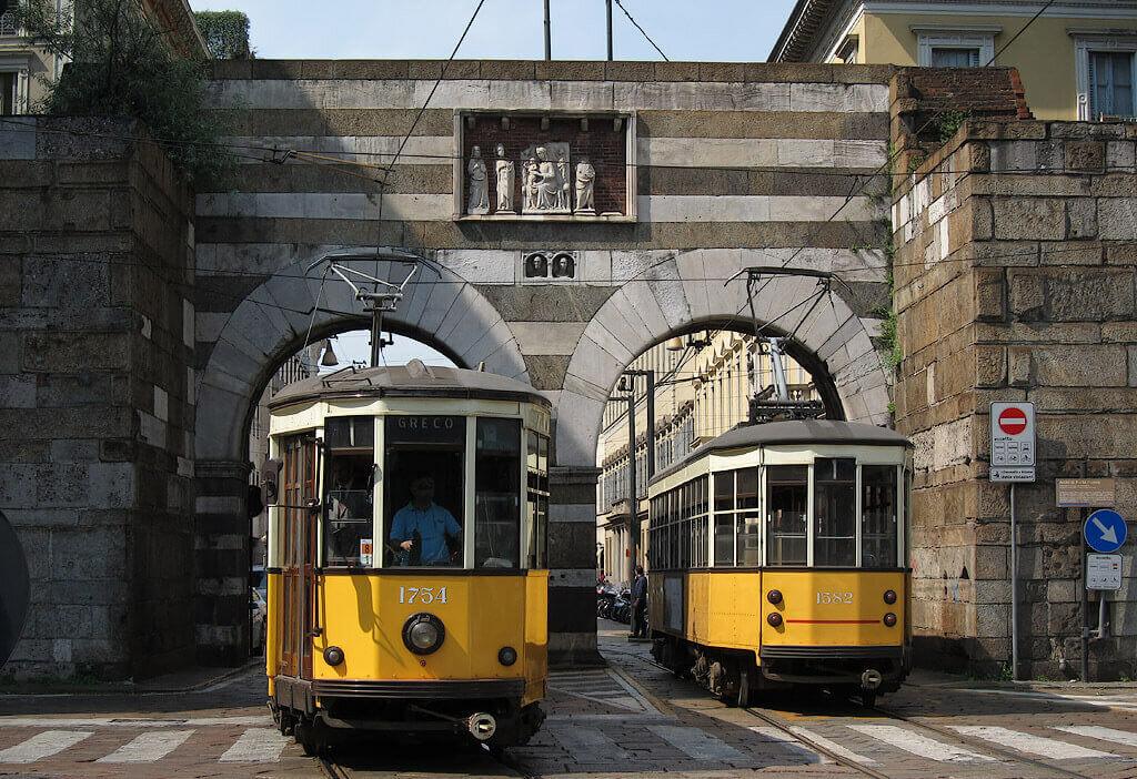 Трамваи Милана