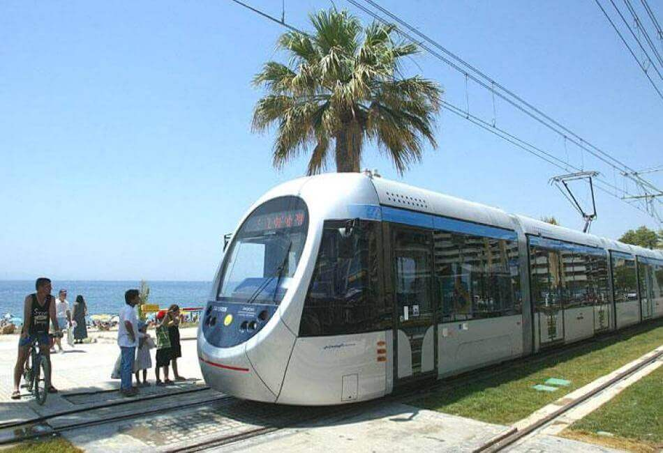 Общественный транспорт Афин