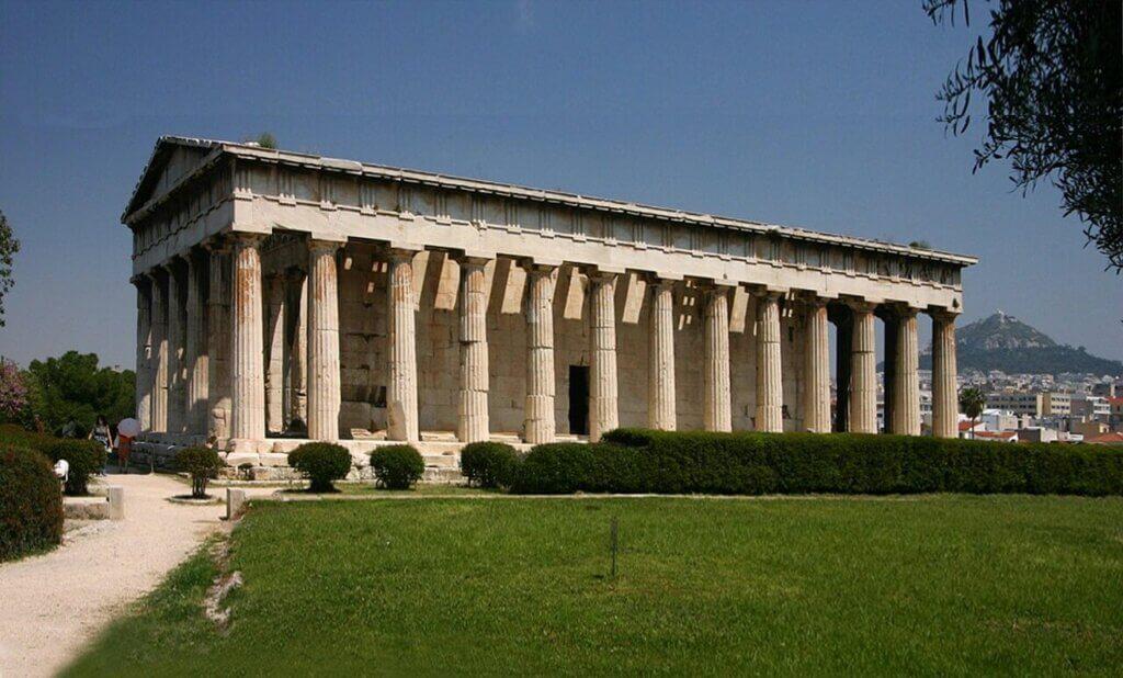 Храм Гефеста на Афинской агоре