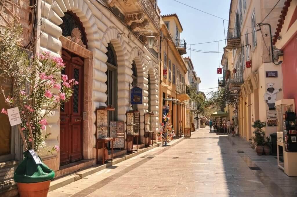 Нафплион - первая столица Греции