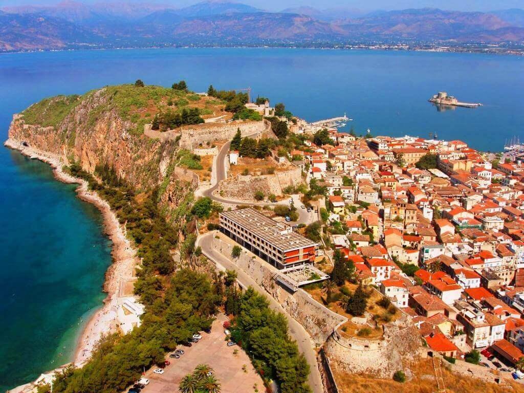 Нафплион — первая столица Греции