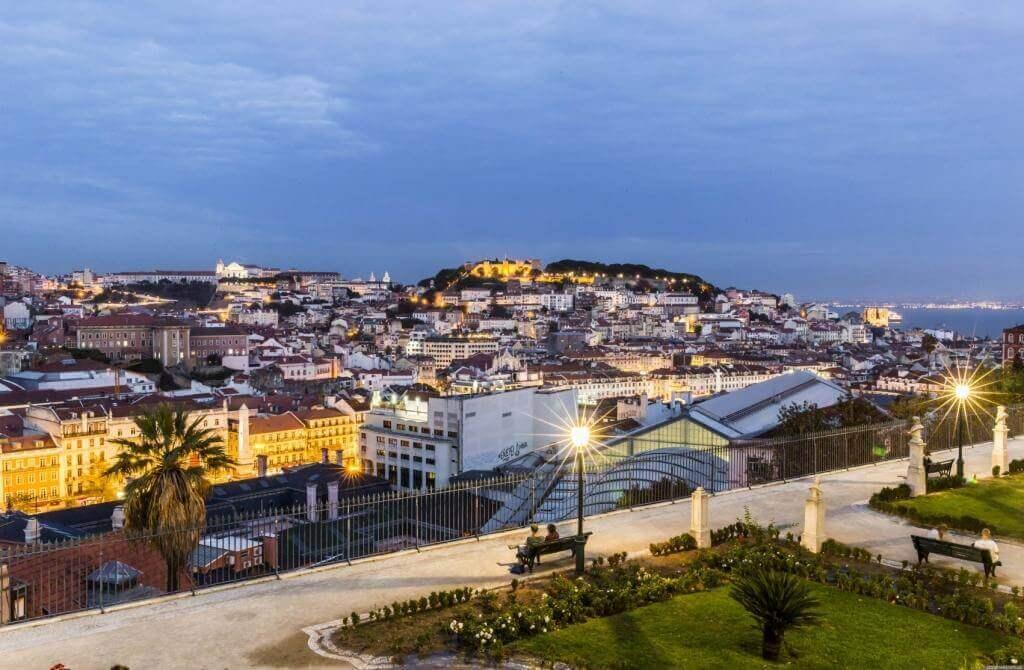 10 самых лучших обзорных площадок Лиссабона