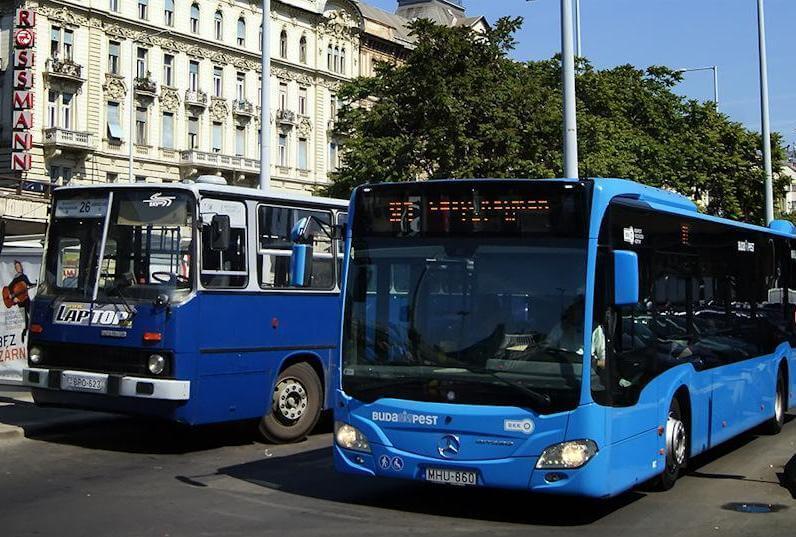 Автобусы Будапешта