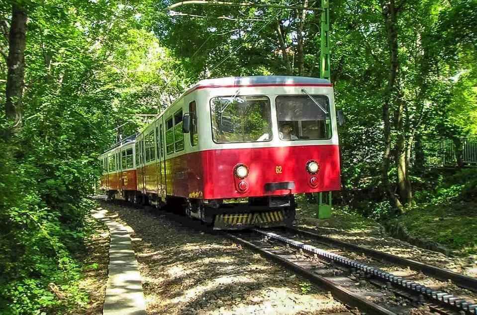 Зубчатая железная дорога Будапешта