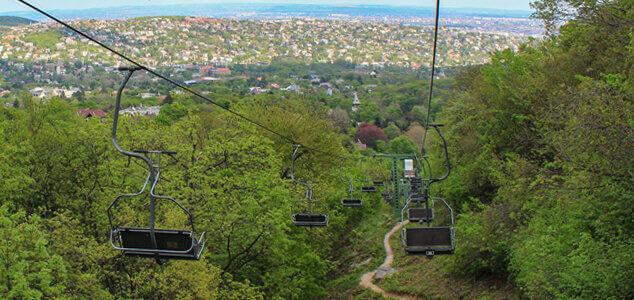 Канатная дорога Будапешта