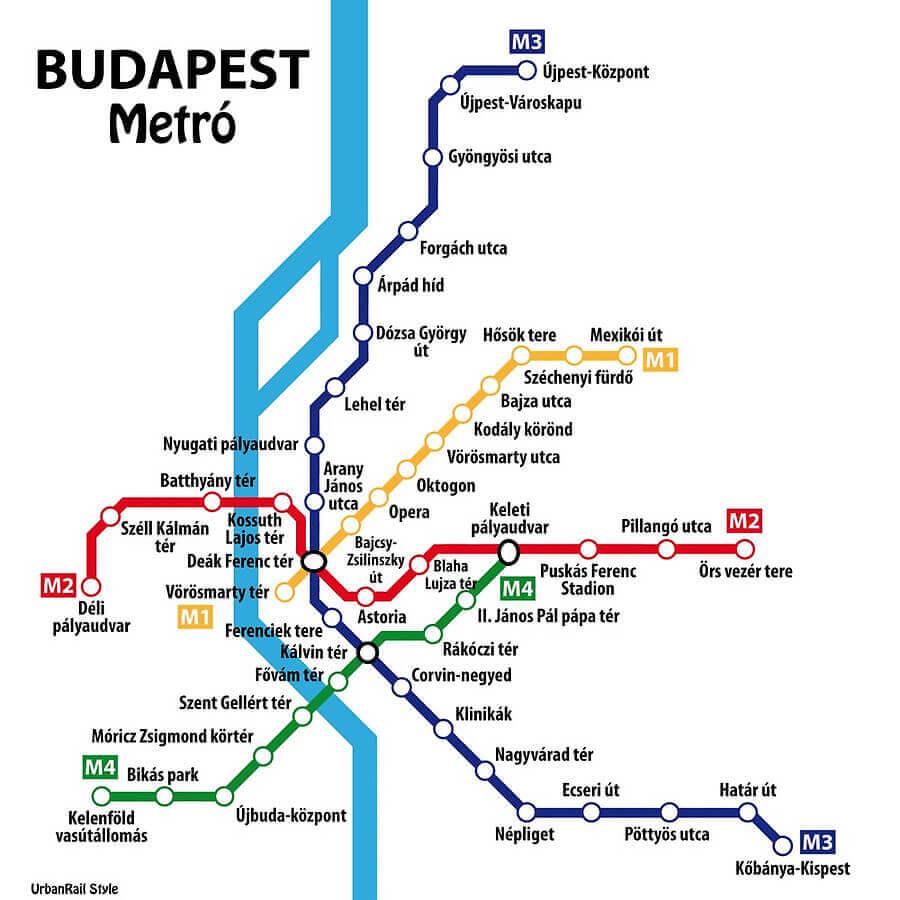 Транспорт Будапешта