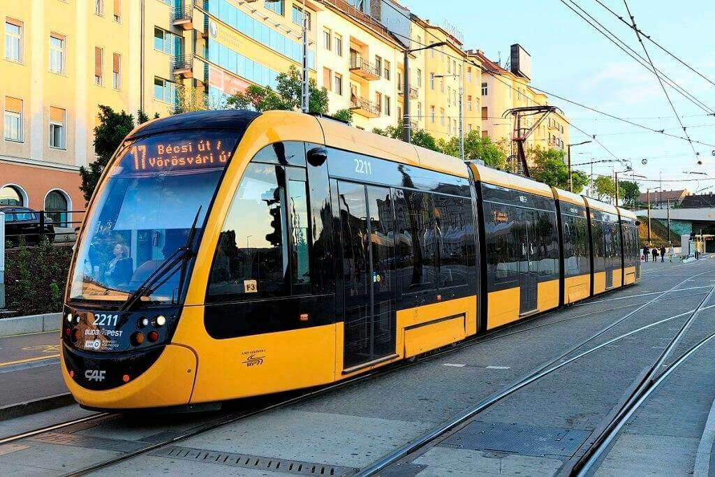 Трамвай Будапешта