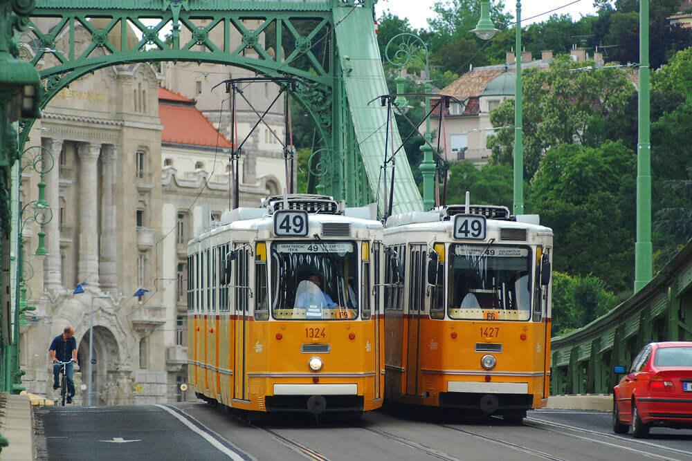 Трамваи Будапешта