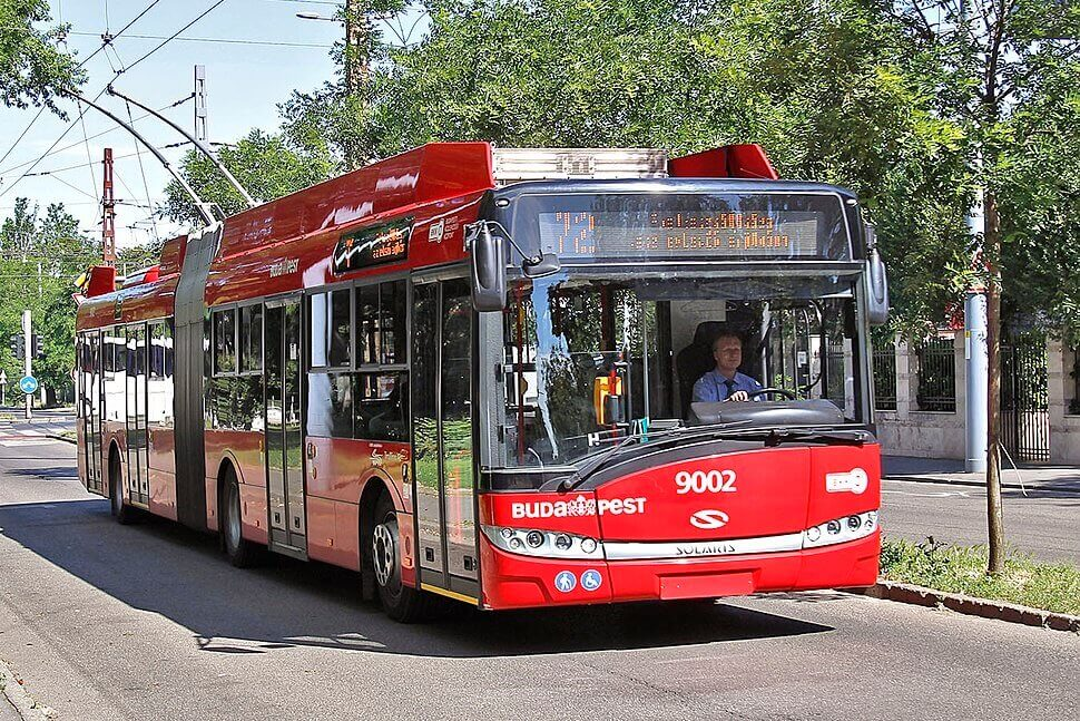Троллейбусы Будапешта