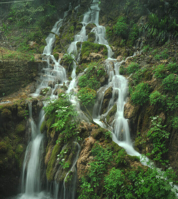 Водопад Cascate del Varone