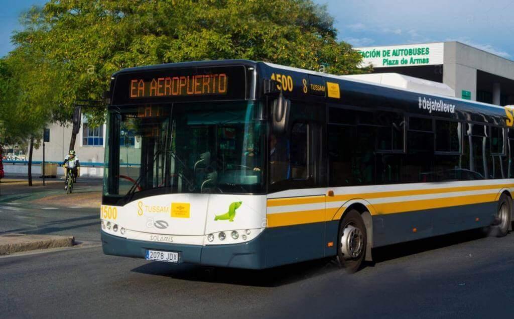Автобус в аэропорт Севильи