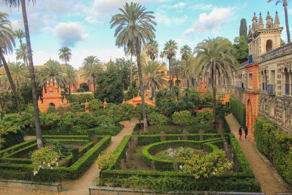 Королевские сады Алькасара