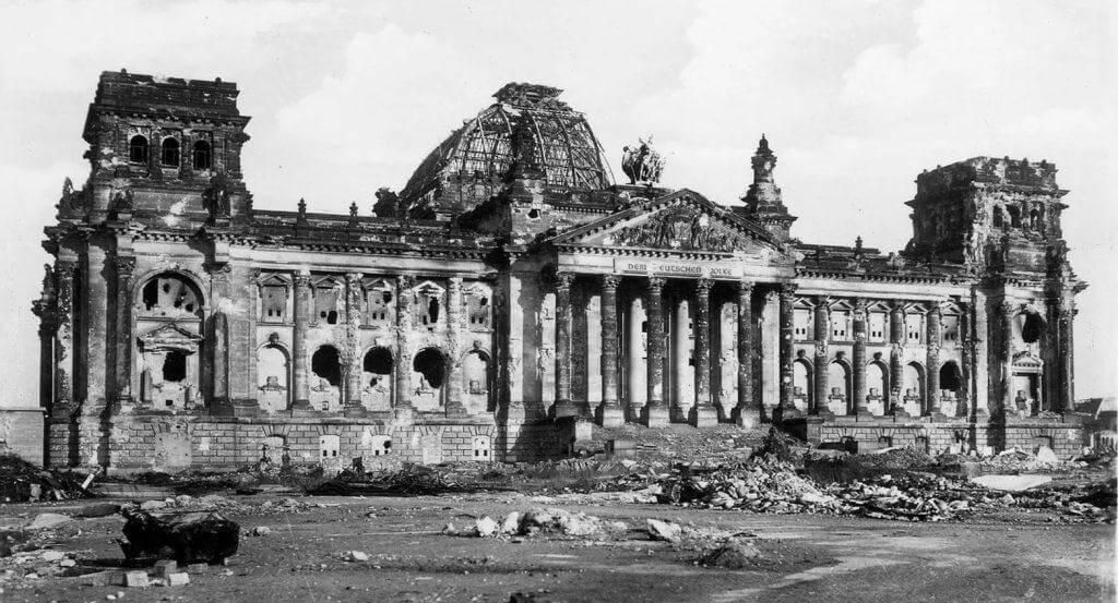 Рейхстаг 1945 год