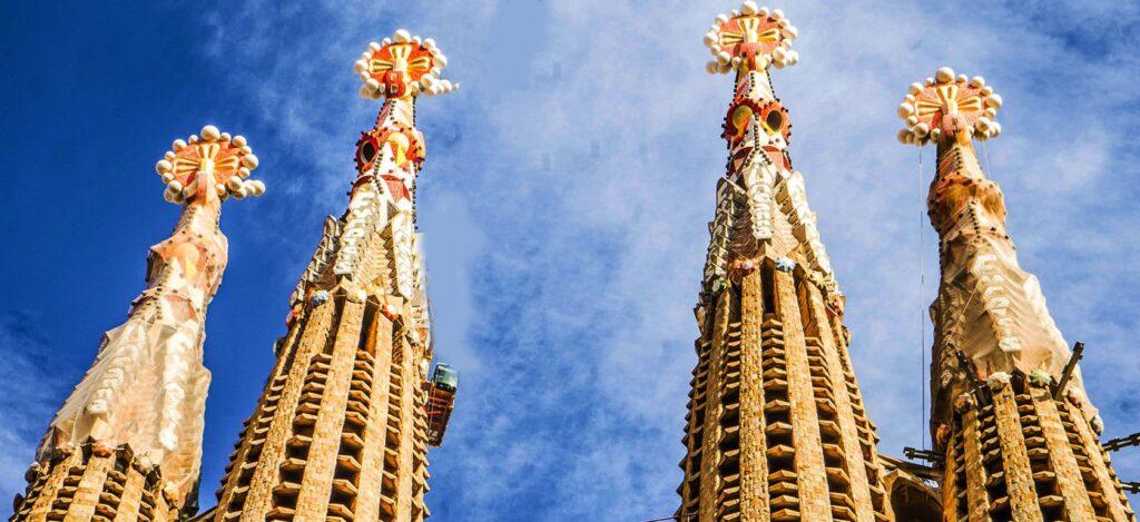 Башни Храма Святого Семейства