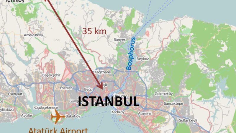Как добраться из Нового аэропорта Стамбула в центр города