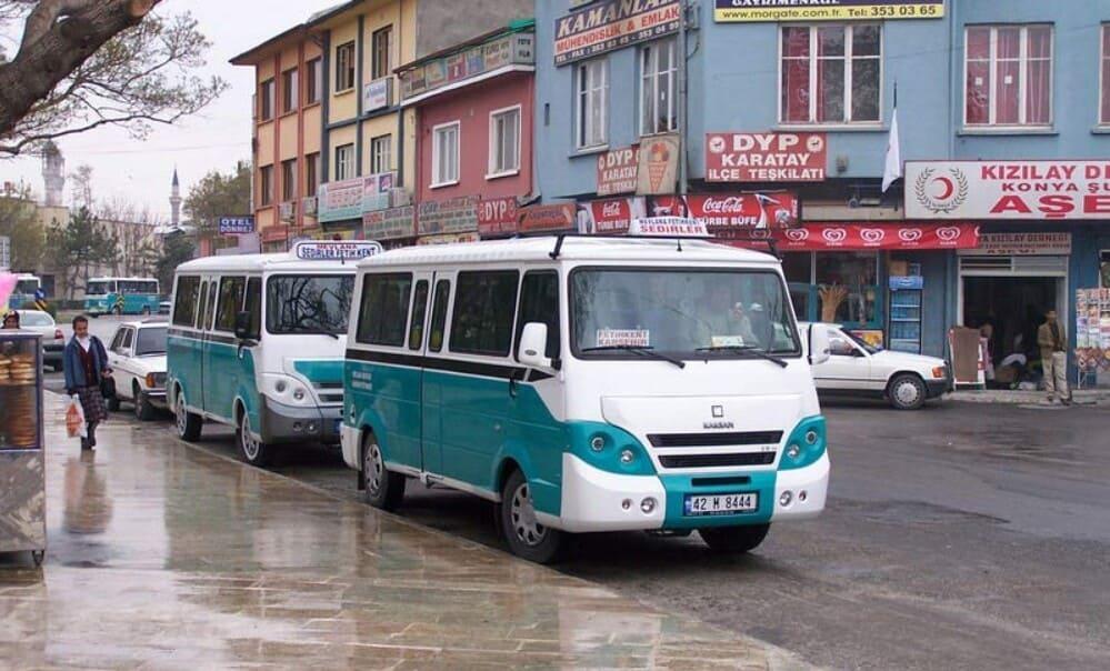 Долмуши в Стамбуле