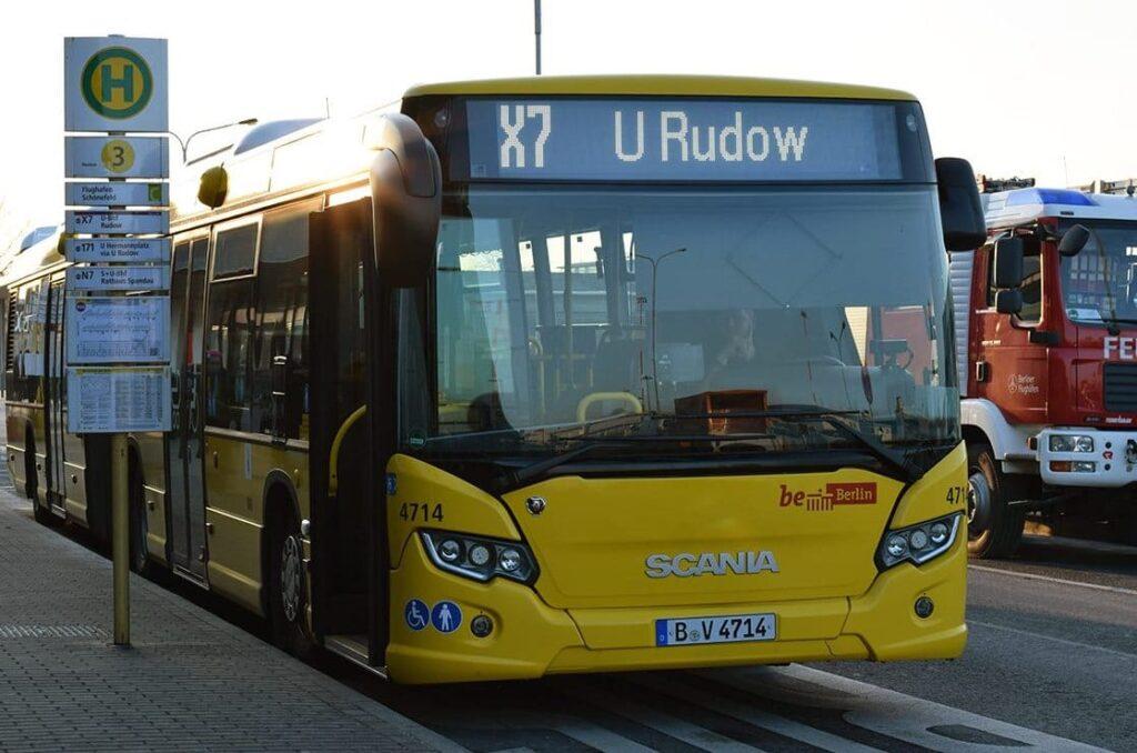 Автобус-экспресс из аэропорта Бранденбург