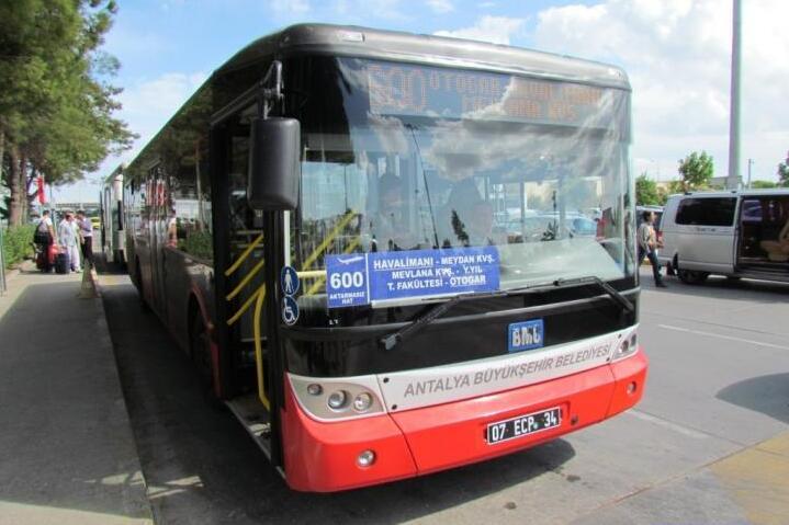 Автобус из аэропорта Анталии