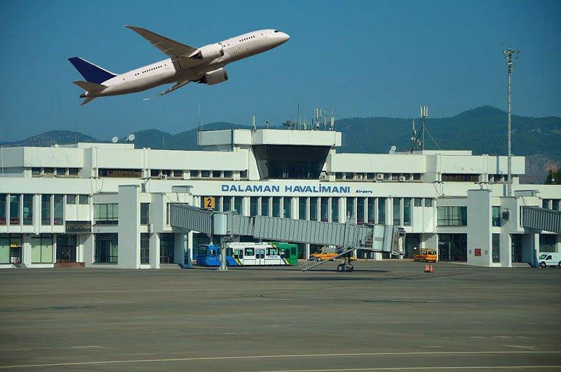 Как добраться из аэропорта Даламана
