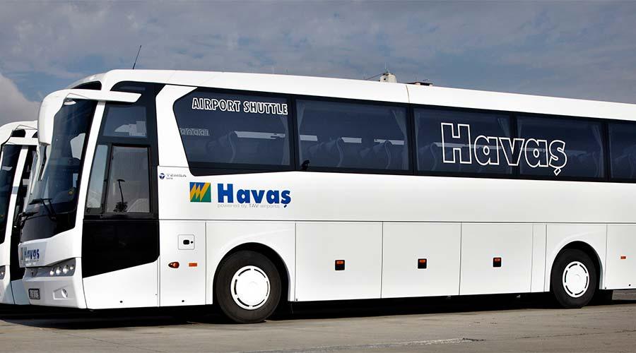 Автобус из аэропорта Даламан
